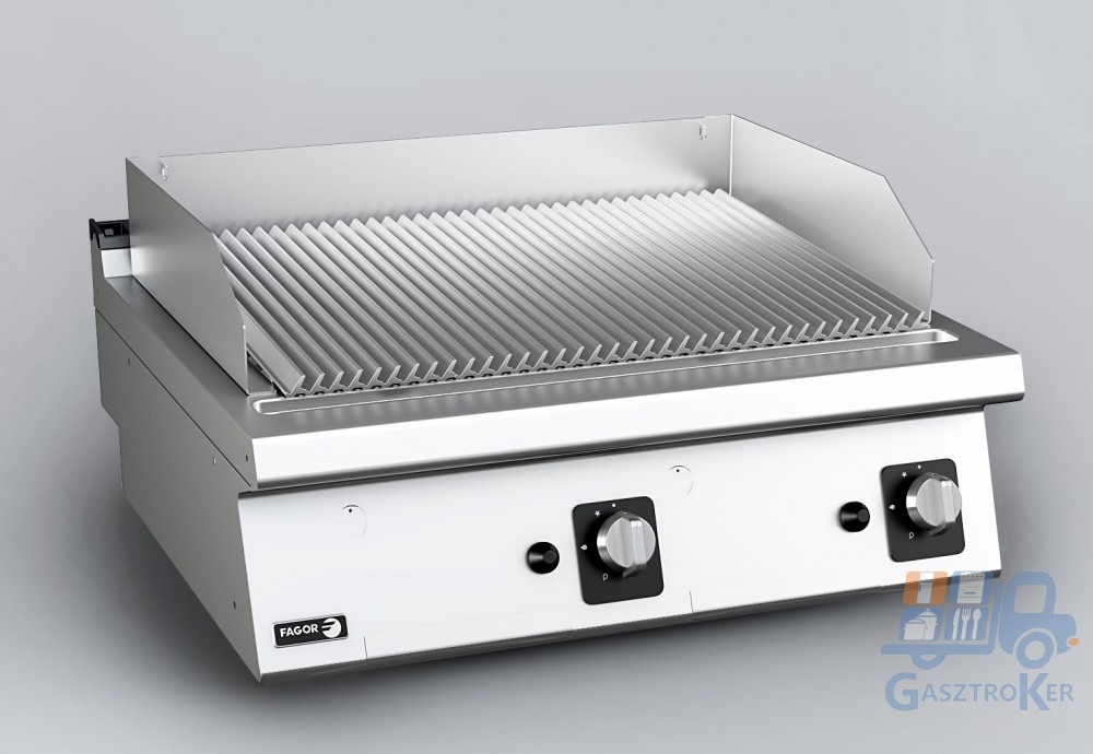 Fagor BG 7-10 I lávaköves grillsütő, rozsdamentes ráccsal