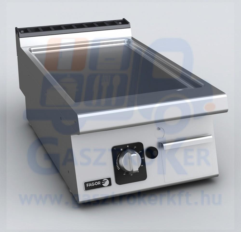 Fagor FTG 7-05 VL asztali gázüzemű sütőlap, sima lappal