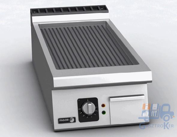 Fagor FT-E905 R asztali elektromos üzemű sütőlap, bordás lappal