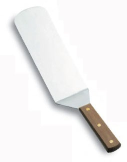 60436 rozsdamentes spatula fa nyéllel