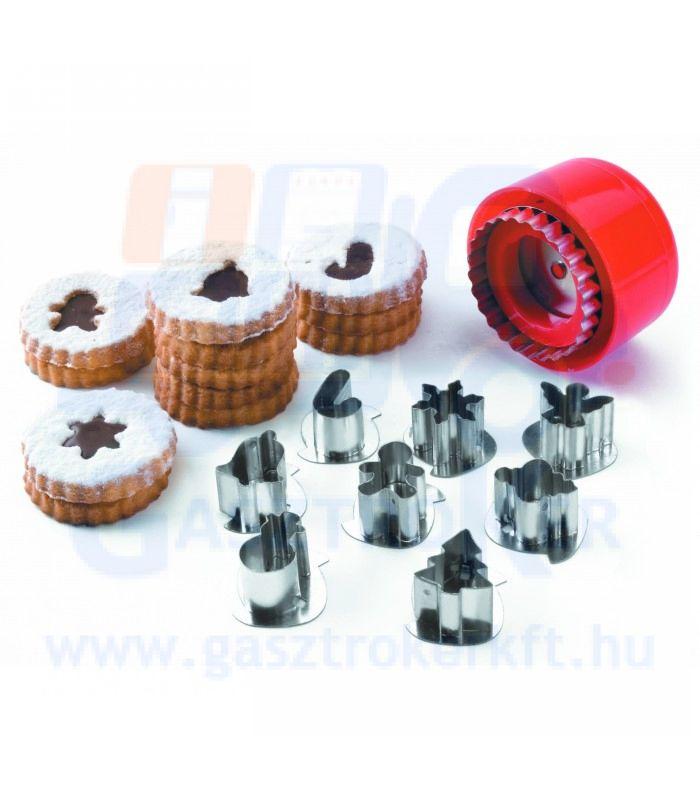 68087 sütemény kiszúró készlet, 8 darabos