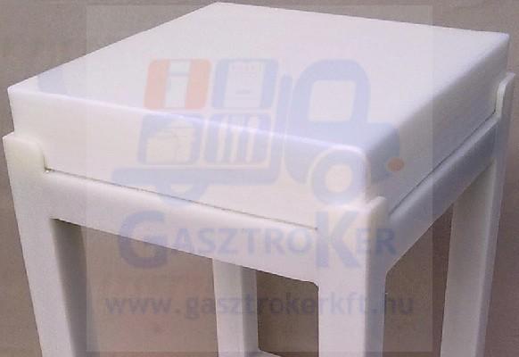 404010 Műanyag tőkefej, 40x40x10 cm
