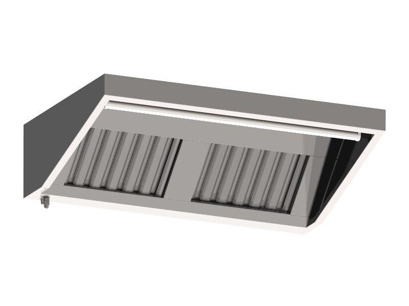 FF 10120 fali elszívóernyő, 1200x1000 mm