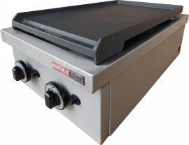 KGO 237 MA 2 asztali gáztűzhely, melegítőlappal