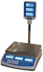 ENQSP-15 asztali tornyos árszorzós mérleg