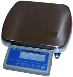 ENWRP-FO-15 elektronikus asztali mérleg,nagyméretű plató, méréshatár: 15 kg