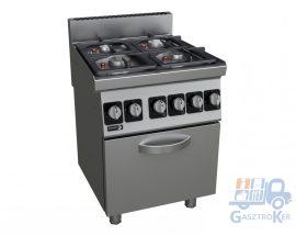 Fagor CGE6-41 gáztűzhely, elektromos sütővel