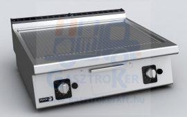 Fagor KORE FT-G710 VR asztali gázüzemű sütőlap, bordás lappal