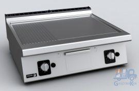Fagor KORE FT-G710 L+R asztali gázüzemű sütőlap, 1/2 sima 1/2 bordás lappal