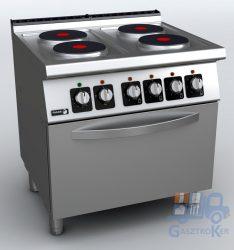 Fagor KORE C-E741 elektromos tűzhely, GN 2/1 méretű elektromos sütővel