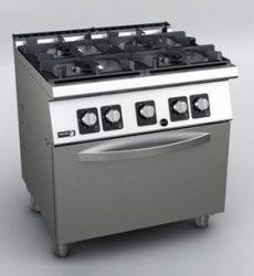 Fagor KORE C-G741 gáztűzhely GN 2/1 gázsütővel
