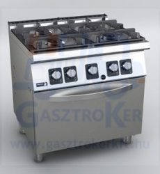 Fagor C-GE741 gáztűzhely GN 2/1 elektromos üzemű sütővel