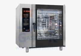 Fagor ACG 061 gázüzemű kombinált sütő-pároló, kapacitás: 6 x GN 1/1 vagy 12 x GN 1/2