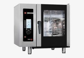 Fagor AG 061 gázüzemű kombinált sütő-pároló, kapacitás: 6 x GN 1/1 vagy 12 x GN 1/2