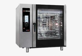 Fagor AG 101 gázüzemű kombinált sütő-pároló, kapacitás: 10 x GN 1/1 vagy 20 x GN 1/2