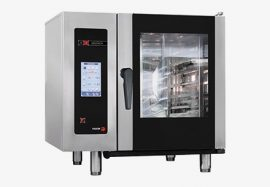 Fagor APG 101 gázüzemű kombinált sütő-pároló, kapacitás: 10 x GN 1/1 vagy 20 x GN 1/2
