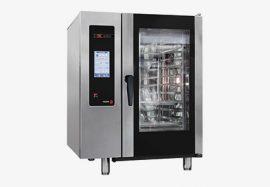 Fagor APG 102 gázüzemű kombinált sütő-pároló, kapacitás: 10 x GN 2/1 vagy 20 x GN 1/1