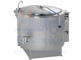 RKG 200 gázüzemű ételfőző üst, űrtartalom: 200 liter, indirekt fűtés