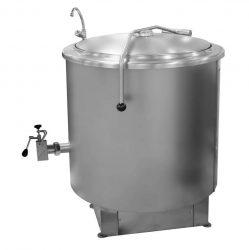 RKD 301 gőzüzemű ételfőző üst, űrtartalom: 280 liter