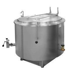 RKD 401 gőzüzemű ételfőző üst, űrtartalom: 400 liter
