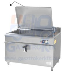 GLF 302 gázüzemű ételfőző üst, űrtartalom 300 liter, indirekt fűtés