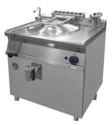 GLR 782 gázüzemű ételfőző üst, 80 literes, indirekt fűtés