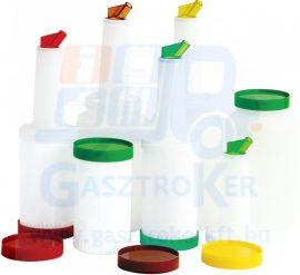 80072772 műanyag ital és szirup adagoló, űrtartalom: 1 liter, zöld
