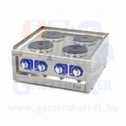 Maxima 600 EC4 asztali elektromos tűzhely, 4 főzőlappal