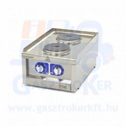 Maxima 600 EC2 asztali elektromos tűzhely, 2 főzőlappal