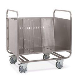 MC 1270 P tányértartó kocsi kapacitás: kb 200 db tányér