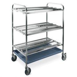 MC 5002 tányércsepegtető kocsi kapacitás: 180 db tányér
