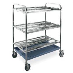 MC 5034 tányércsepegtető kocsi kapacitás: 216 db tányér