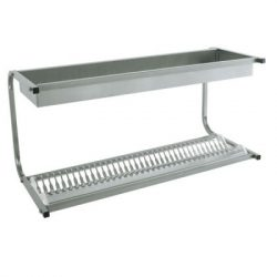 MC 5064 tányér- és pohárcsepegtető, kapacitás: 36 db tányér + pohár