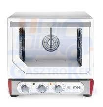 MEC PE 43 MU.1B Légkeveréses sütő, manuális vízbef., multifunkciós grill, 4 db 450x340 tepsivel