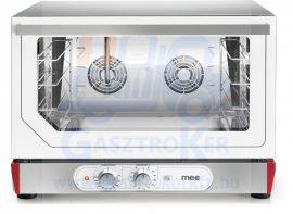 MEC PE 46 UER.1B Légkeveréses sütő, manuális vízbefecskendezés, 4 db 600x400 vagy GN 1/1