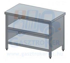 Rm.tárolóasztal, elöl nyitott, 900x600 mm