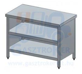 Rm.tárolóasztal, elöl nyitott, 1200x700 mm