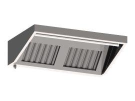 FF 10100 fali elszívóernyő, 1000x1000 mm