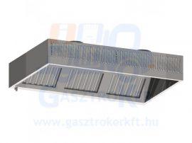FFR 100/110 Fali elszívóernyő frisslevegő és indukciós befúvással, 1000x1100 mm