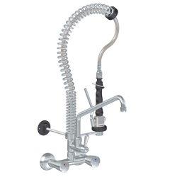 RUB00958509 Mini fali zuhany kétgombos csapteleppel és kifolyóval TOP-CLASS, 600 mm