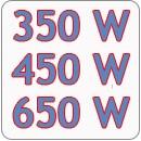 350-450-650 W teljesítményű motorokhoz