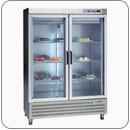 Rozsdamentes üvegajtós hűtők