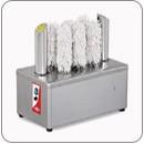 Pohárszárító és polírozó gép