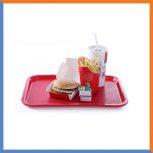 Fast food tálcák