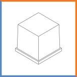 Kocka alakú jég