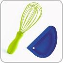 Habverő, kenőecset, spatula
